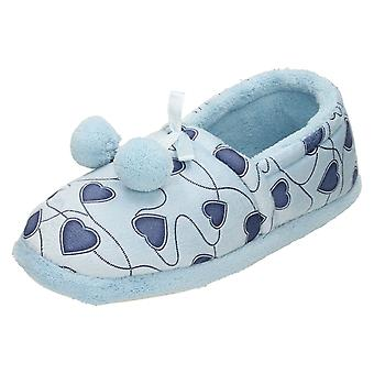 Ladies Four Seasons Slippers With Heart Design