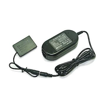 Dot.Foto udskiftning Fujifilm AC Adapter Kit (AC-5VX AC lysnettet Power Adapter & CP-95 DC Coupler) for Fujifilm X 100, X100s - leveres med UK 3-pin netkabel