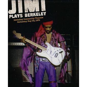 Jimi Hendrix - Jimi spelar Berkeley [DVD] USA import