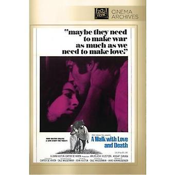 Marcher avec importation USA Love & mort [DVD]