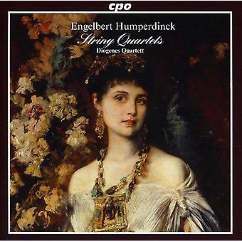 Engelbert Humperdinck - Engelbert Humperdinck: quatuors à cordes [CD] USA import