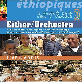 Ethiopiques - Vol. 20-Ethiopiques: Live in Addis [CD] USA import
