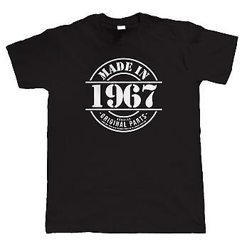 Hergestellt in 1967 Herren lustige T Shirt, Geschenk 50. Geburtstag für ihn Papa