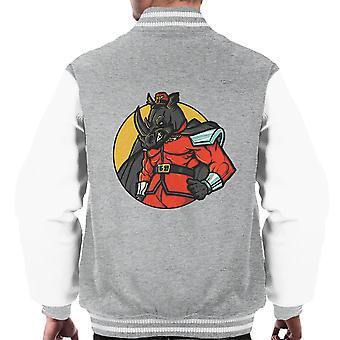 Rechtmatig kwaad M Bison Rhino Street Fighter mannen Varsity Jacket