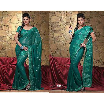 Bhagyashri Georgette Indian Sari saree Fabric Bellydance