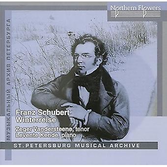 Schubert / Vandersteene, Zeger / Kende, Levente - Schubert: Die Winterreise [CD] USA import