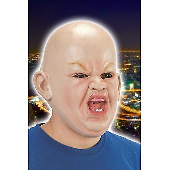 Bebé de máscaras máscara enojado