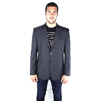 French Connection 55AT9 New York Suiting Dan-SB2-Peak Charcoal Jacket