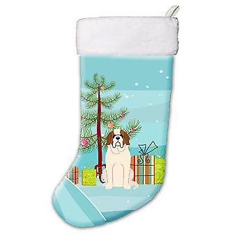 Merry Christmas Tree Saint Bernard joulusukka