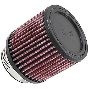 K&N RB-0900 Universal Clamp-On Air Filter: Round Straight; 3 in (76 mm) Flange ID; 4 in (102 mm) Height; 4.313 in (110 m