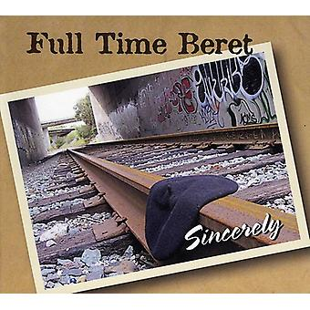 Full Time Beret - Sincerely [CD] USA import