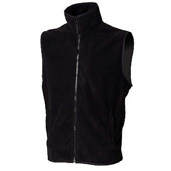 Henbury Mens Sleeveless MicroFleece Bodywarmer Jackets