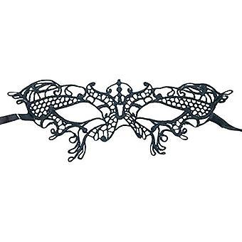 Halloween Augenmaske Spitzen Gothic Maske Damenkostüm