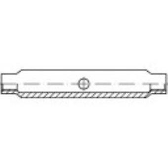 TOOLCRAFT 136561 Turnbuckle sleeve M16 Steel zinc galvanized DIN 1478 1 pc(s)