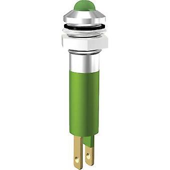 إشارة بناء مؤشر LED ضوء الأصفر 24 V DC SWQU08124
