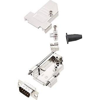 encitech DTSL09-S-JSRG+DMP-K 6355-0042-21 D-SUB pin strip set 180 ° Número de pinos: 9 Solder bucket 1 Set