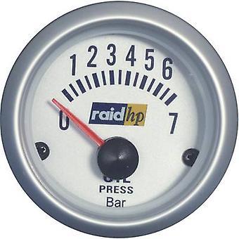 رائد ضغط الزيت hp 660219 قياس 0-7bar 12V