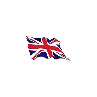 Union Jack dragen Union Jack Wavey vlag Stickers X 2