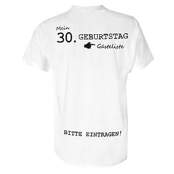 30 vuotta t-paita