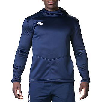 Canterbury Mens Pro activo técnica con capucha camiseta deportiva