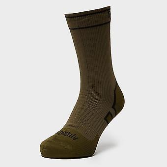 Nuevos Bridgedale hombres Stormsock calcetines de peso medio Khaki