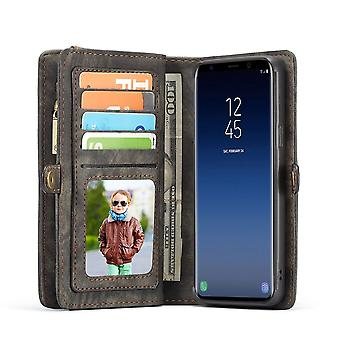 Cell phone case for Samsung Galaxy S9 plus G965F CaseMe protective case purse + Pouch Black