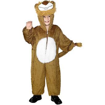 Lion Costume, Medium.  Medium Age 7-9