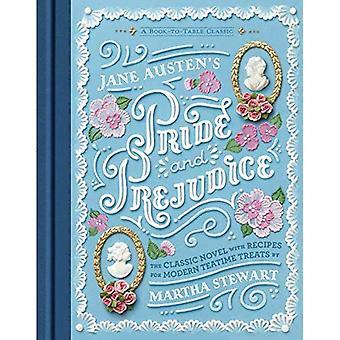 Austens Stolz und Vorurteil: ein Buch auf den Tisch-Klassiker
