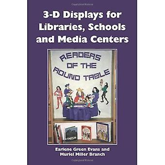 3D-skjermer for bibliotek, skoler og Media sentre