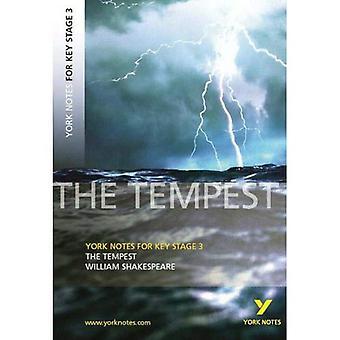 De Tempest: York merkt voor KS3 Shakespeare (York merkt belangrijke fase 3)