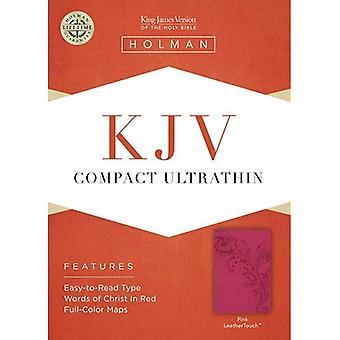 KJV COMPACT ULTRATHIN PINK LEATHERLIKE