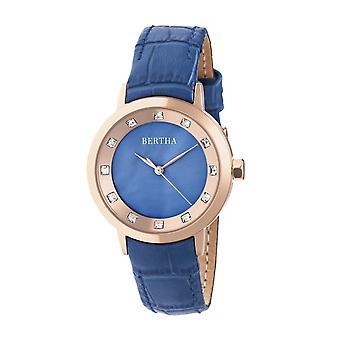 שעון עור ברטה סיסליה-כחול