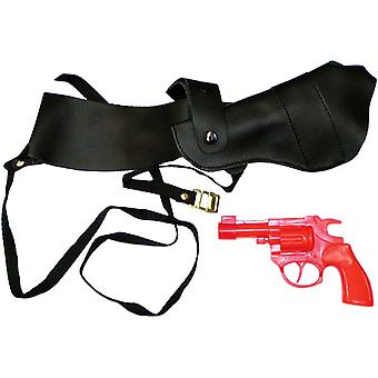 Shoulder Holster With Gun