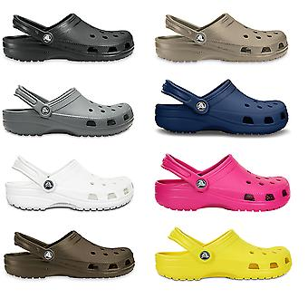 Unisex Adults Crocs Classic Clog Lightweight Beach Water Shower Shoes