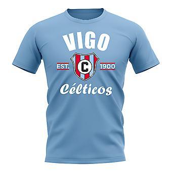 Celta Vigo gevestigde voetbal T-Shirt (Sky)