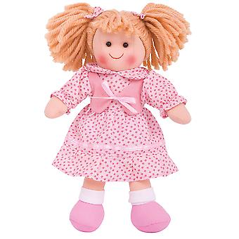 Bigjigs Toys Soft Plush Sophie (28cm) Rag Doll Cuddly Toy