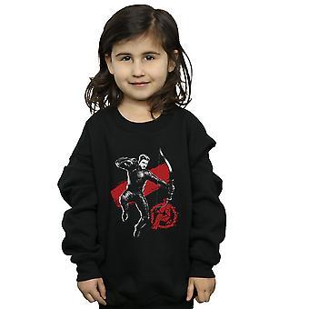 Marvel Girls Avengers Endgame Mono Hawkeye Sweatshirt