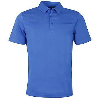 Callaway Mens Birdseye Box Jacquard Tour Golf Polo Shirt