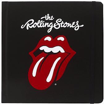 The Rolling Stones Tongue Logo Hardback Notebook