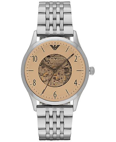Emporio Armani Ar1922 Beige Dial Men's Stainless Steel Watch