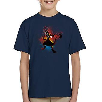 Psychic Storm Mewtwo Kid's T-Shirt