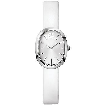 Calvin Klein Ck Anreiz Leder Damen Uhr K3P231L6