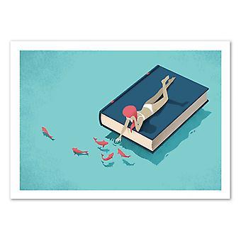 Arte-Pôster - Relaxante - Andrea de Santis