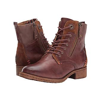 Comfortiva Womens Sarango Leather Closed Toe Ankle Fashion Boots