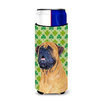 Mastiff St. Patrick ' s Day Shamrock portret Ultra drank isolatoren voor slanke c
