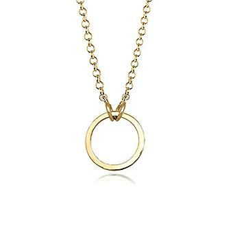 Elli Necklace With Silver Women's Pendant 925 - Gold Plated