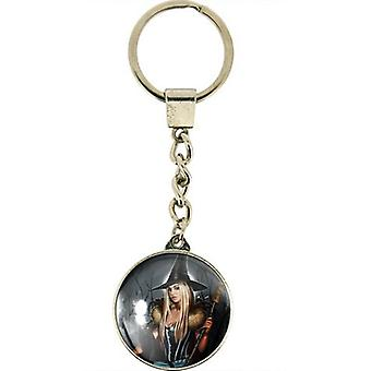Winter Witch Key Ring