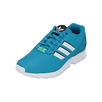 adidas Originals ZX FLUX Men's Sneakers Turn Shoes Blue Turquoise NEW OVP