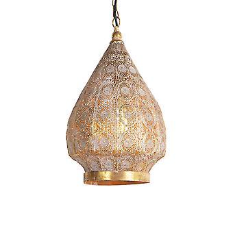 QAZQA Oriental Hängeleuchte gold 28 cm - Mowgli
