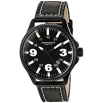 Akribos XXIV Clock Man Ref. AK833WT, IN